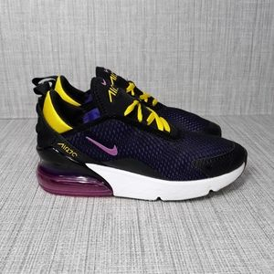 nike air max 270 blue and yellow